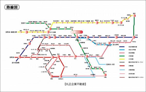 路線図 (溝の口)