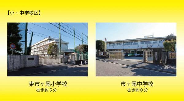 市ヶ尾(マツ)学区