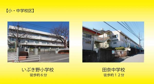 長津田パークハイツ学区